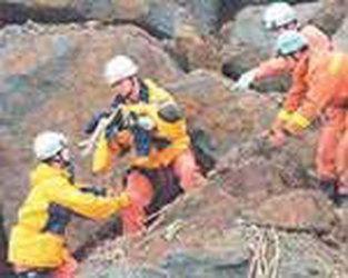 Milagroso rescate en Japón