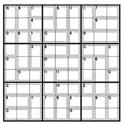 Sudoku <i>Killer</i>